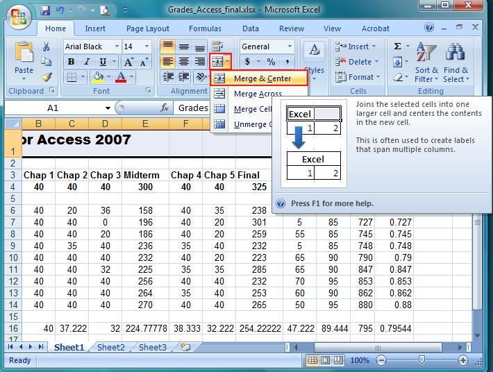 how to learn excel 2007 step by step pdf