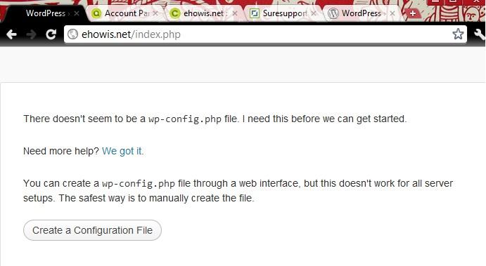 setup-wordpress-configuration-file