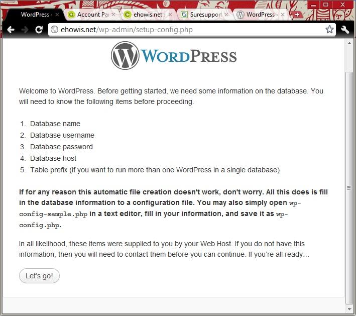 setup-wordpress-mysql-database